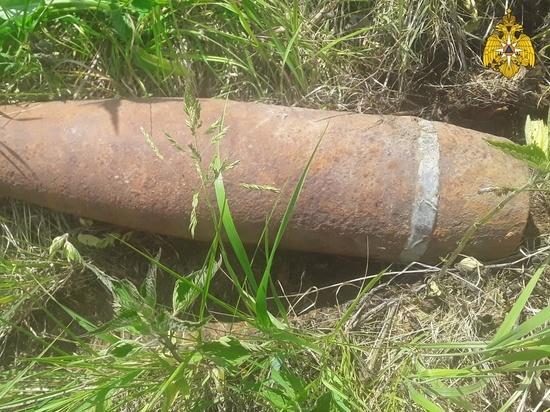 В Тверской области обнаружили военный снаряд