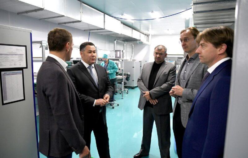 В Твери при поддержке правительства региона создается первый на территории Тверской области частный промышленный технопарк