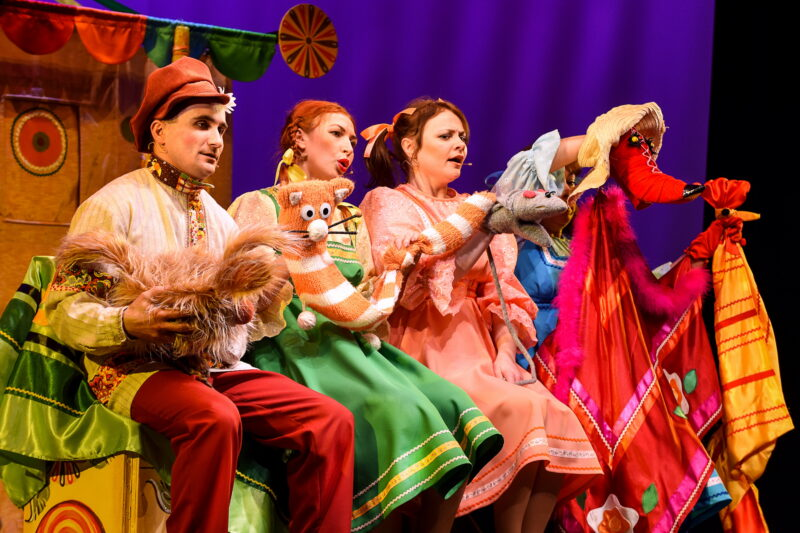 Тверской театр кукол приглашает на премьеру нового спектакля