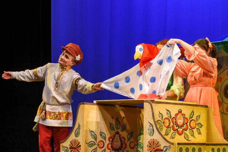"""""""Потешная сказка"""" ждет гостей в стенах в Тверском театре кукол"""