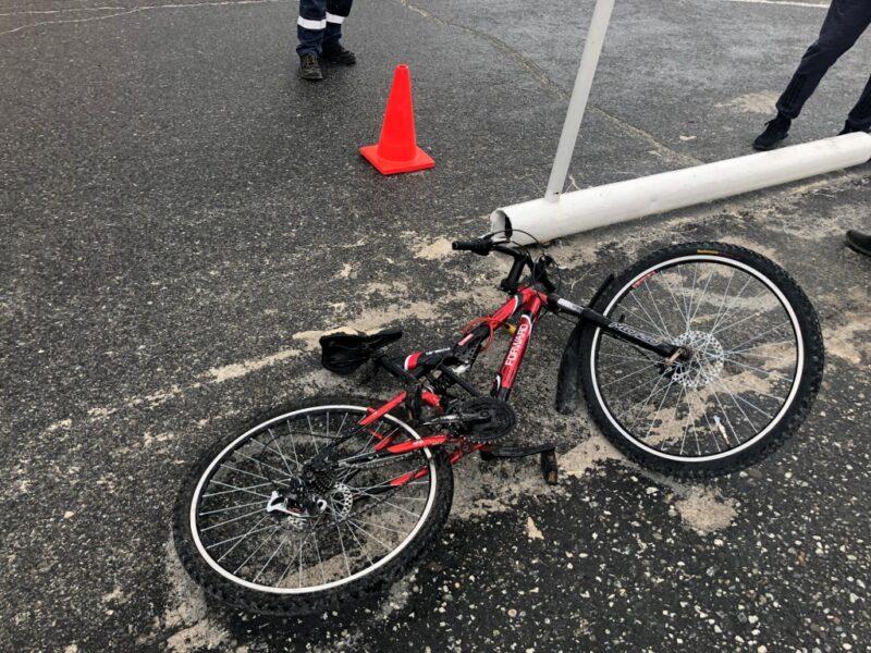 В Тверской области сбили мальчика на велосипеде