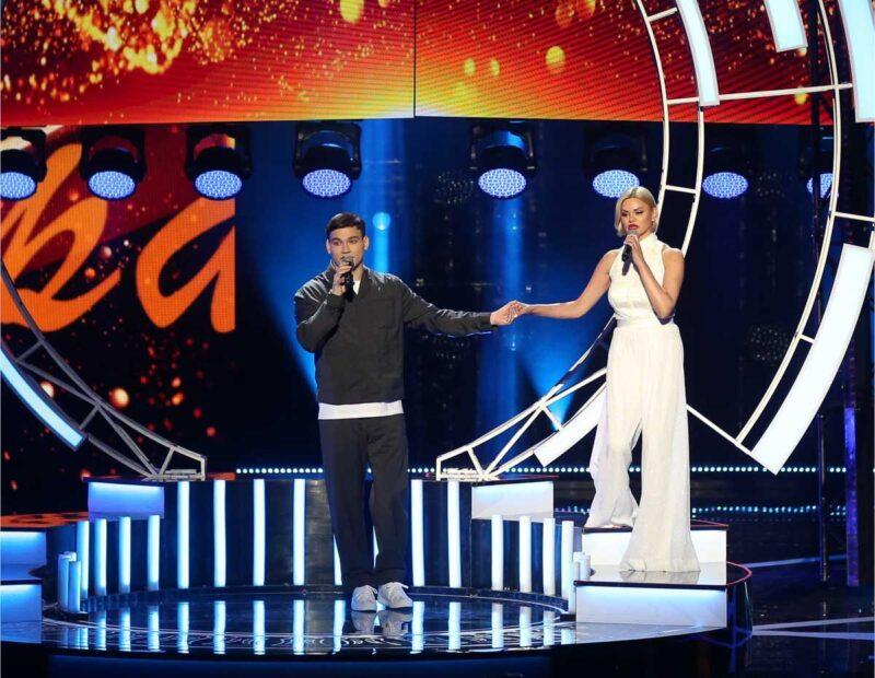Сын Михаила Круга спел его песню на премии «Шансон года»