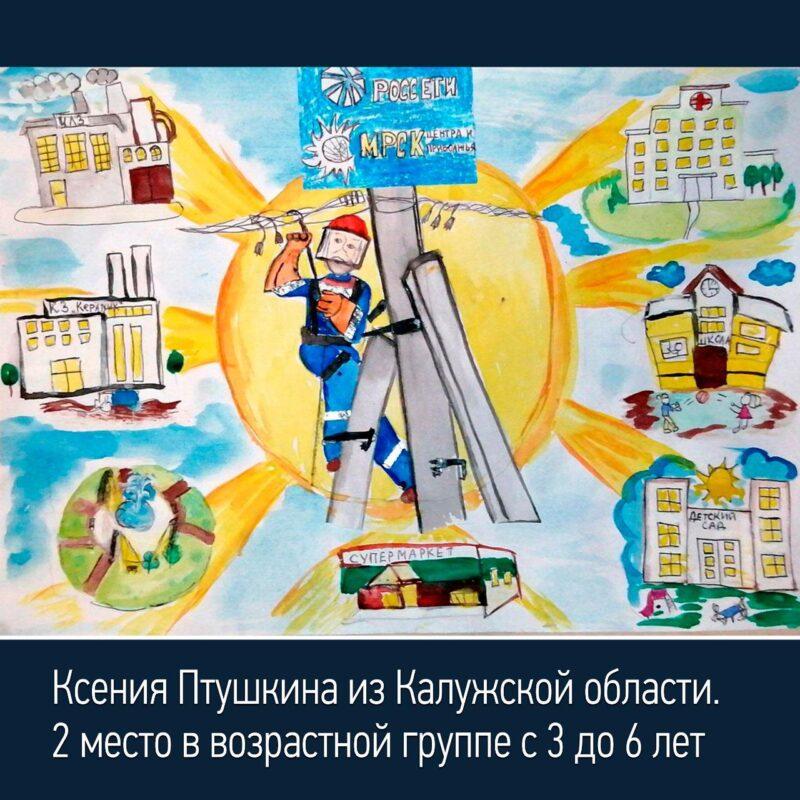 Объявлены итоги конкурса рисунков «Работа энергетиков глазами детей»
