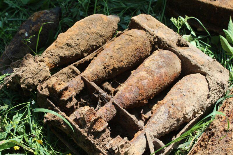 В Нелидово было найдено и уничтожено более сотни снарядов времен Великой Отечественной войны