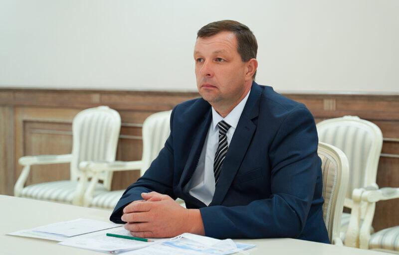 Губернатор Игорь Руденя обсудил с главой Сонковского района ремонт дорог в муниципалитете и другие актуальные вопросы