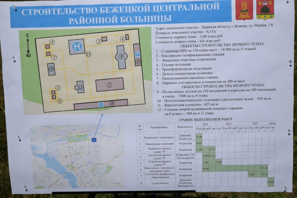 В 2021 году начинается реновация Бежецкой центральной районной больницы
