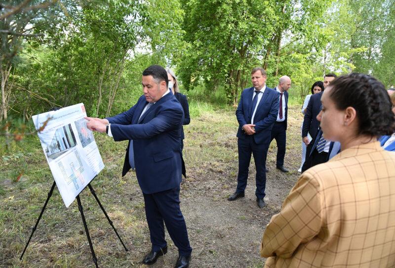 Игорь Руденя осмотрел первый в Тверской области дом-интернат нового типа для пожилых людей