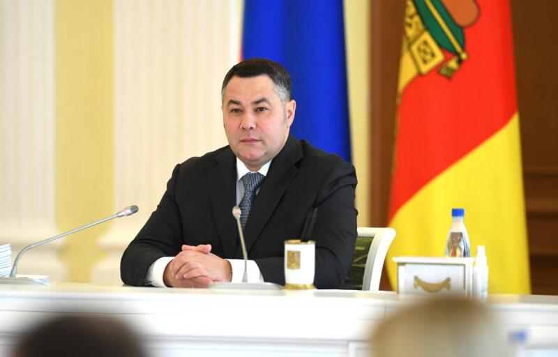 Губернатор Игорь Руденя сообщил введении в работу более 30 мер поддержки семей с детьми