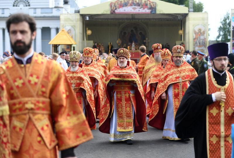 В Калязине отмечают 500-летие обретения мощей Макария Калязинского