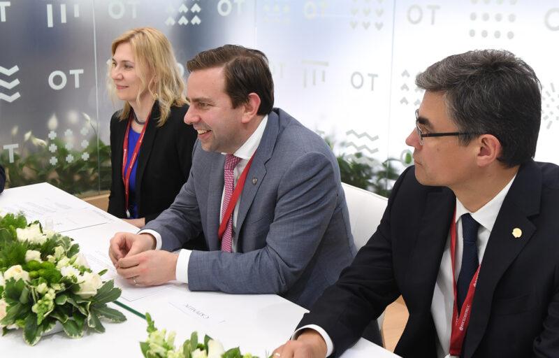 На ПМЭФ-2021 подтверждены намерения о дальнейшем развитии в Тверской области проектов компании «Шелл»
