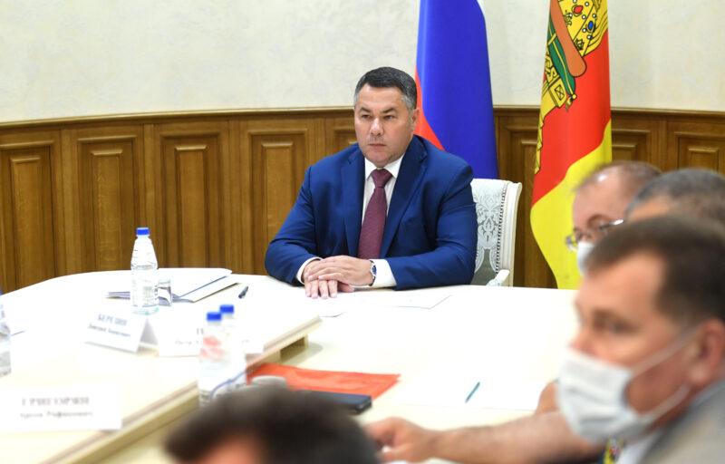1400 коек развернуто в Тверской области для лечения пациентов с коронавирусной инфекцией