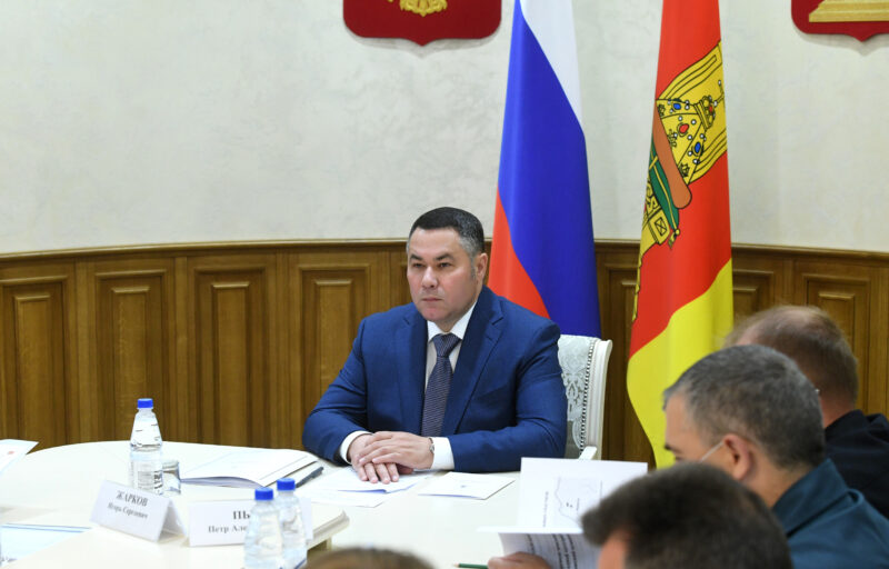 В Правительстве Тверской области обсудили газификацию Жарковского района