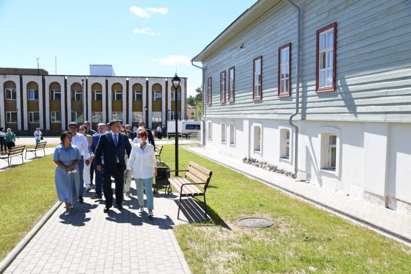 В отреставрированном Бежецком музее откроются экспозиции, посвященные Вячеславу Шишкову и Василию Андрееву