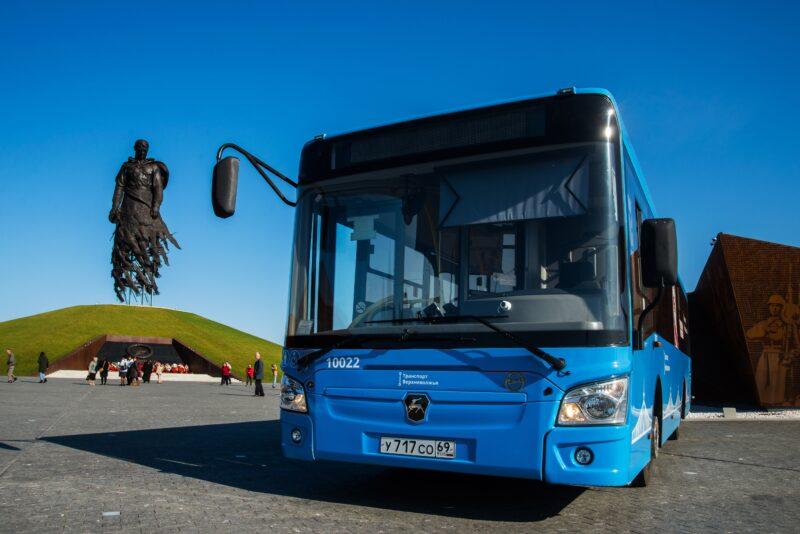 Тридцать тысяч пассажиров воспользовались маршрутом «Ржев – Ржевский мемориал» за полгода