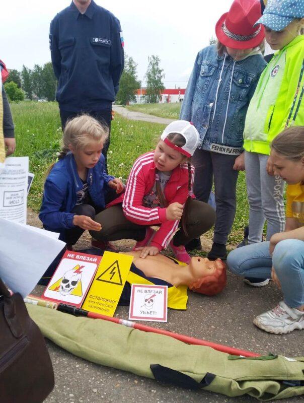Тверские энергетики рассказали школьникам из Кашина о электробезопасности