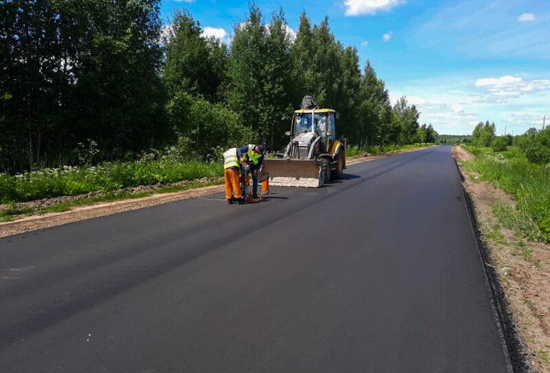 На 27 километровом участке дороги Дубна - Кимры - Горицы пройдут ремонтные работы