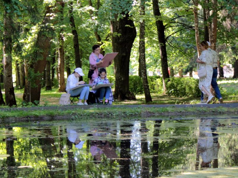 В Берново Тверской области прошел Пушкинский праздник поэзии