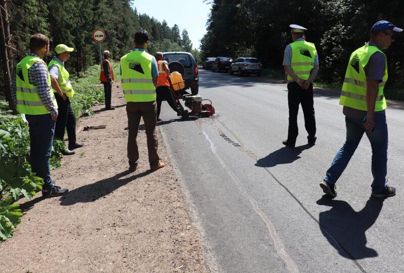 В Тверской области завершается ремонт 23,4 км автодороги «Москва – Рига» – Андреаполь – Пено – Хитино