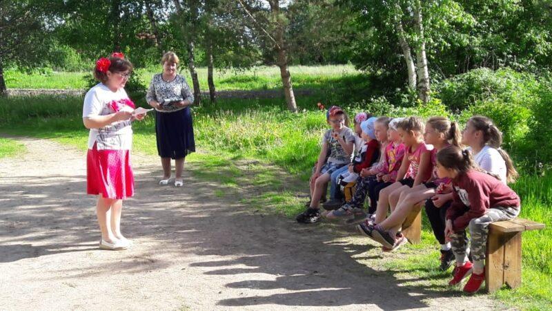 В деревне Домашино отметили праздник детства