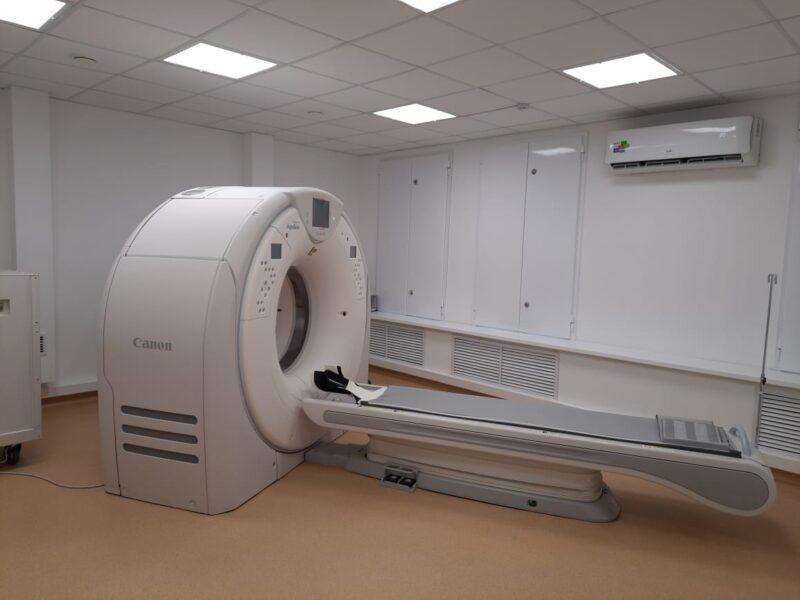 В Ржевской ЦРБ завершился ремонт кабинета компьютерной томографии