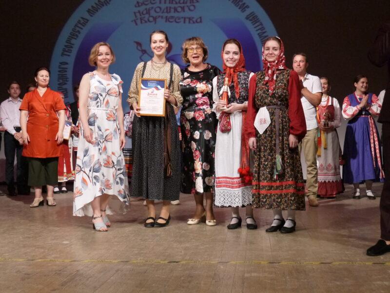 Коллективы из Тверской области вошли в число победителей фестиваля народного творчества