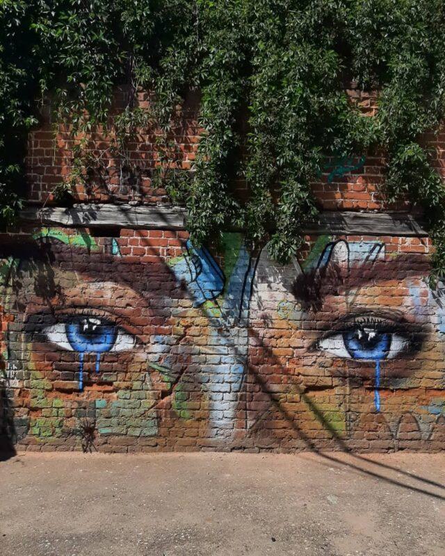 В Твери появился новый стрит-арт объект