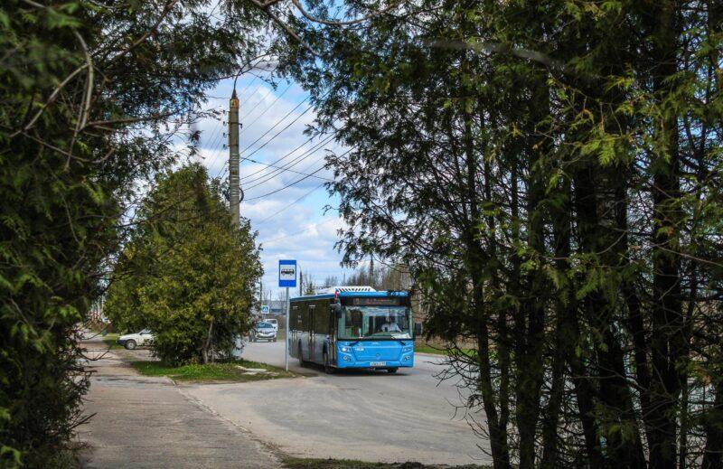Маршрут одного из номеров синего автобуса изменится в Твери с 1 июля