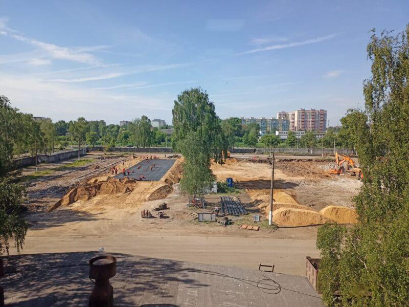 В Тверской области продолжается строительство мультимедийного парка «Россия – Моя история»