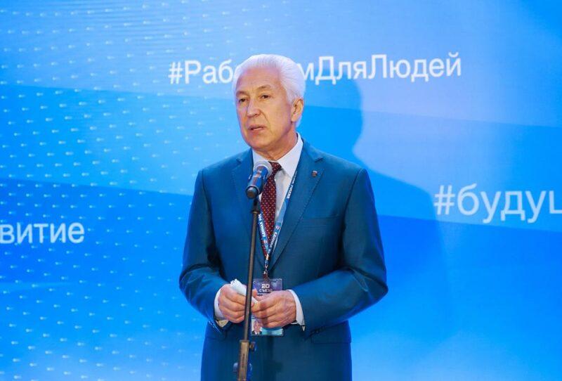 Владимир Васильев: Только решение сложных вопросов продвигает нас вперед