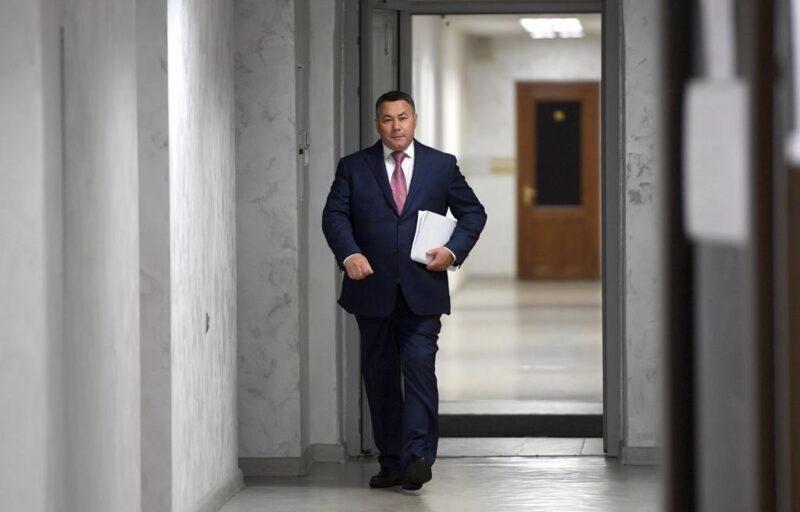 Игорь Руденя подал документы в Избирательную комиссию Тверской области