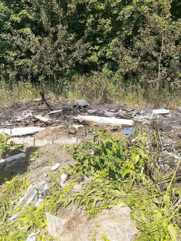 В Тверской области неизвестные пытались поджечь свалку