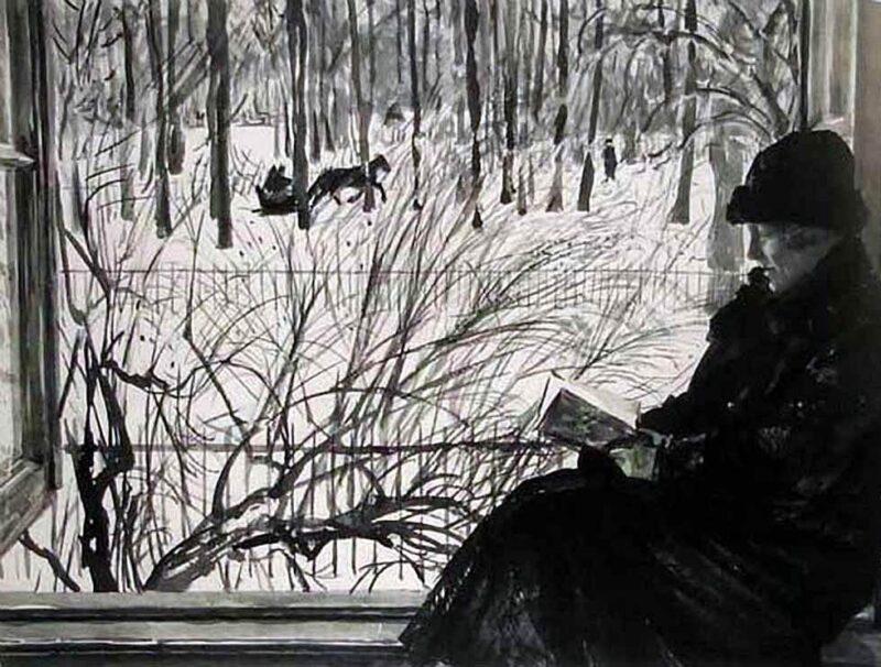 Тверская картинная галерея проводит выставку работ Георгия Верейского