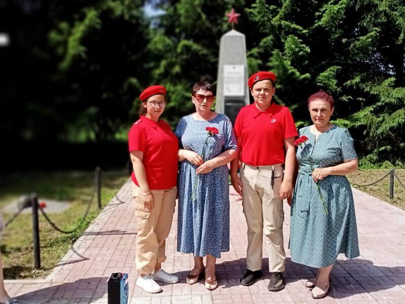 В День памяти и скорби в Ржевском районе прошли памятные мероприятия