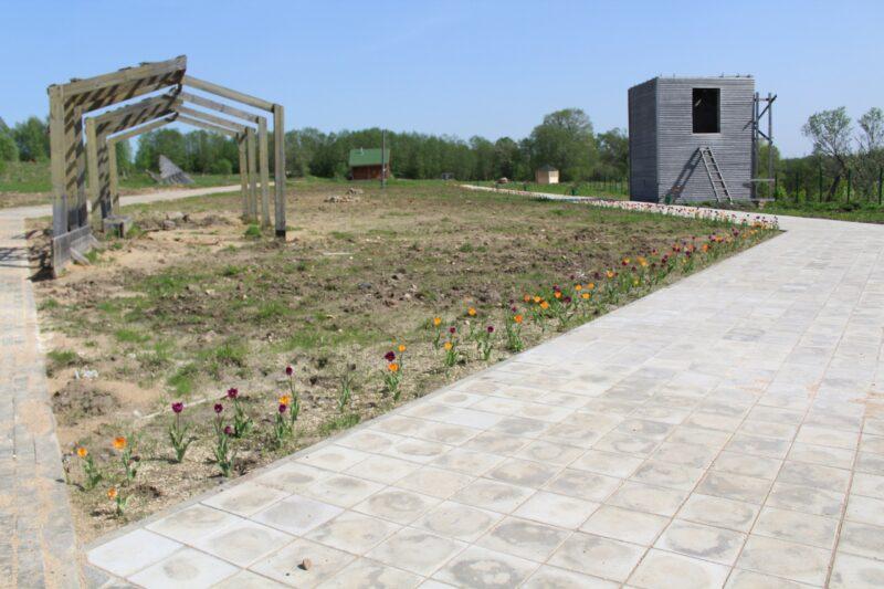В Лихославльском районе строят муниципальный этнокомплекс с кемпингом