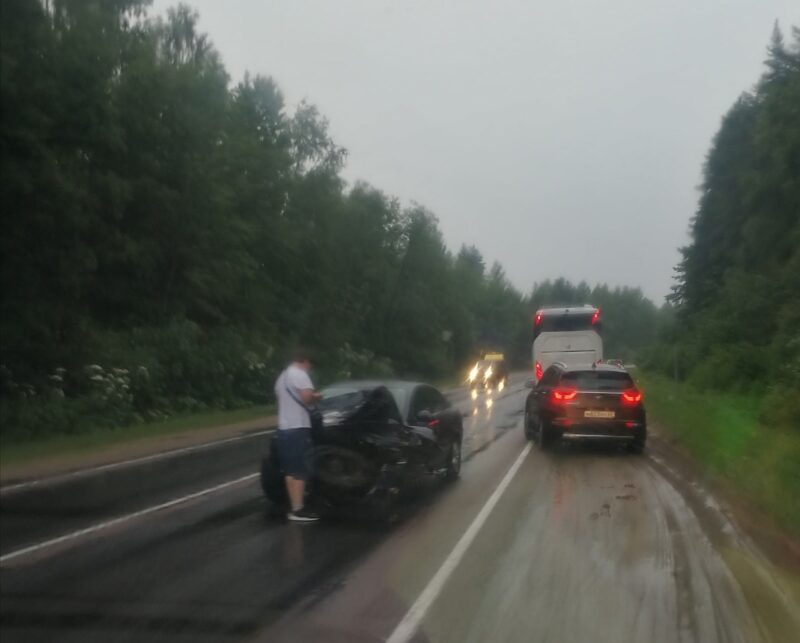 На Старицком шоссе произошло еще одно ДТП