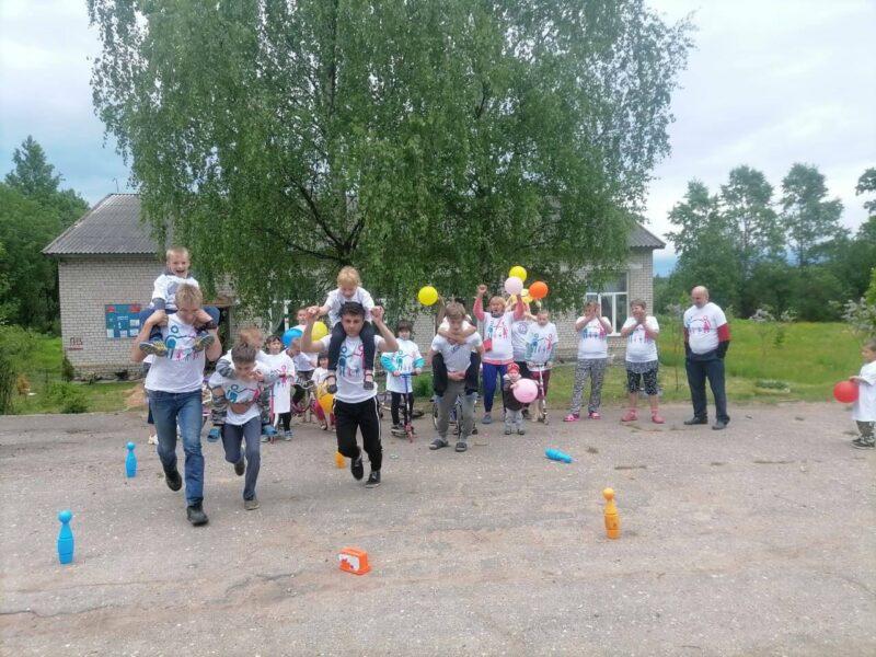 Спортивный праздник объединил семьи Ржевского района