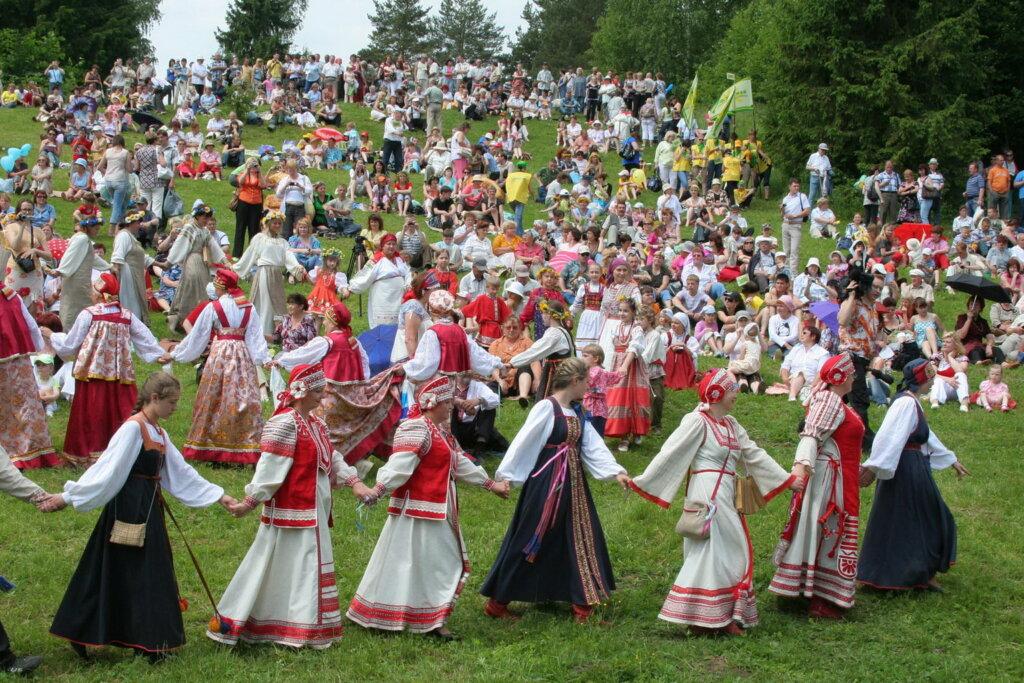 В Тверской области проходит Фестиваль народного творчества самодеятельных коллективов Центрального федерального округа