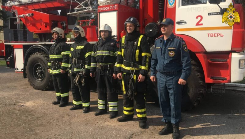 В Твери пожарные спасли 5 жизней