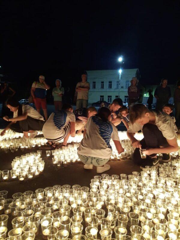 В Ржеве состоялась всероссийская акция «Огненные картины»