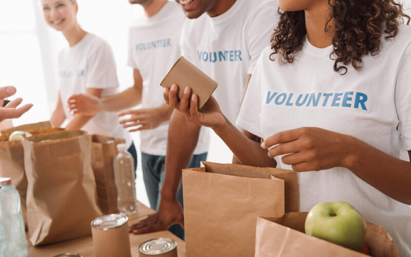 В центре поддержки предпринимательства «Мой бизнес» прошел месяц благотворительности