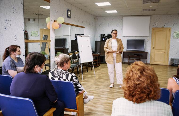 """Юлия Саранова посетила Калязин и анонсировала открытие добровольческого центра """"МыВместе"""""""