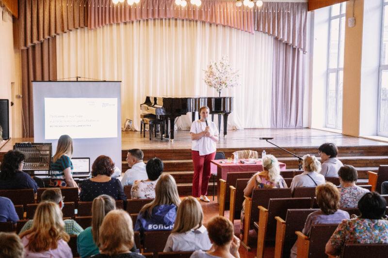 В городе Кимры Юлия Саранова рассказала о новом масштабном проекте