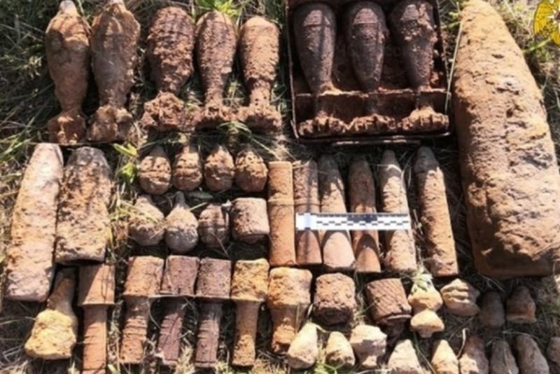 В Тверской земле «покоились» больше тысячи мин и гранат