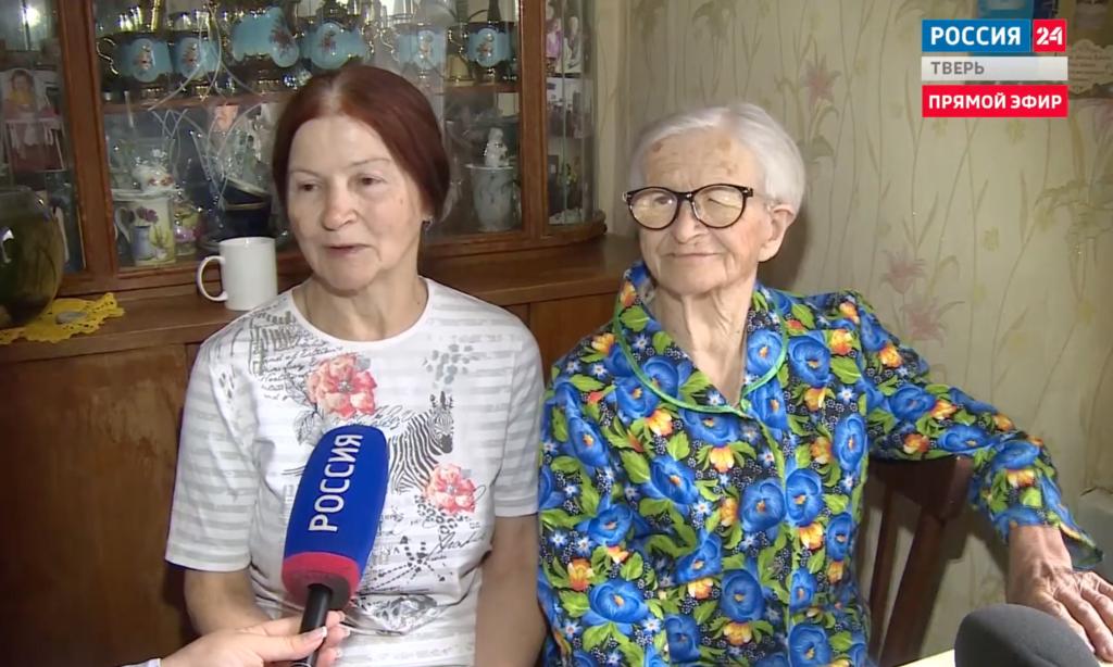 По поручению Игфоря Рудени в дом пенсионерки-ветерана из Ржева провели газ