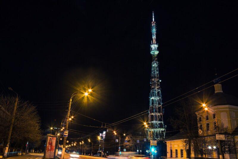 В День семьи, любви и верности телебашню в Твери подсветят огнями