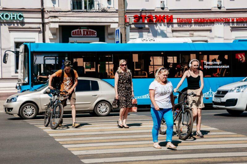 Социальная акция «Твой ход! Пешеход» проходит в Тверской области