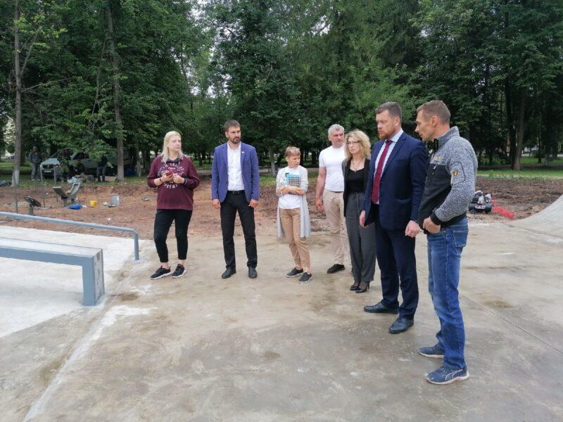 Во Ржеве скоро появится новая скейт-площадка