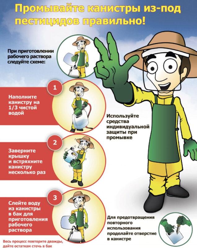 В Тверской области можно утилизировать тару из-под пестицидов