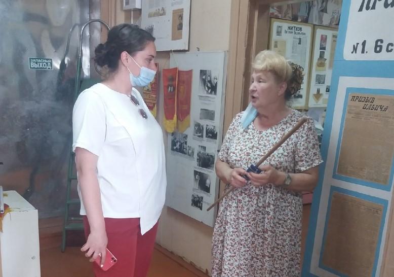 Юлия Саранова начала развитие волонтерской деятельности в Максатихе