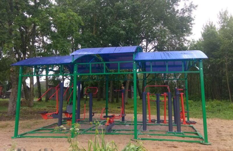 Жители села Лесного муниципального округа получили возможность заниматься физической культурой в любую погоду